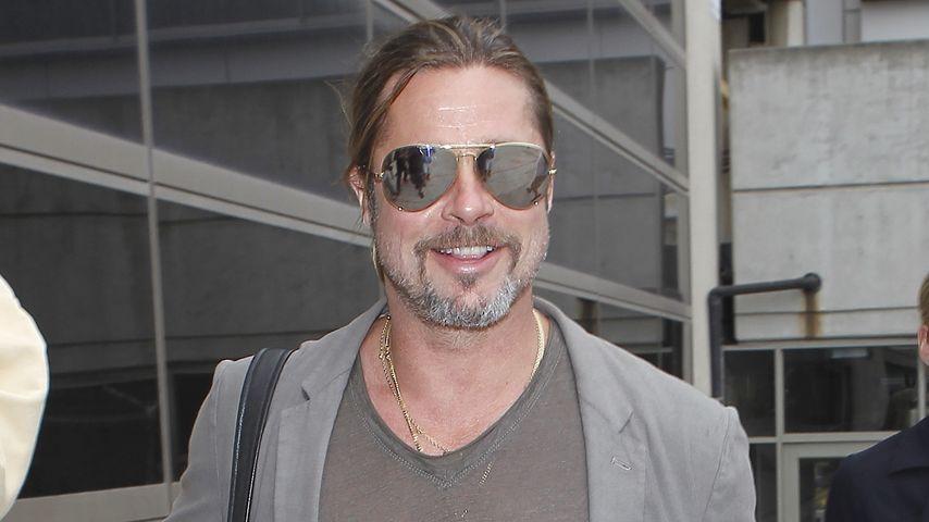 Abenteuer-Garant Kinder: So urlaubt Brad Pitt!