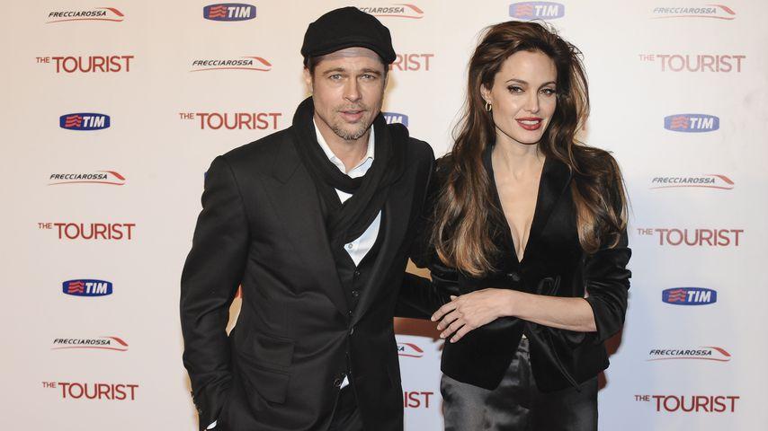 Brad Pitt und Angelina Jolie, 2010