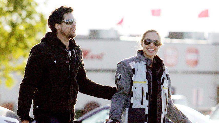 Brad Pitt und Angelina Jolie im Jahr 2005