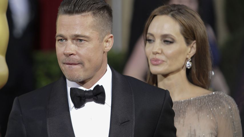 Brad Pitt und Angelina Jolie bei der Oscarverleihung 2014