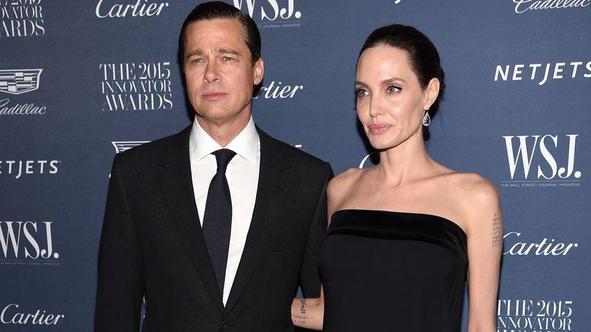 Nach Rosenkrieg: Brad Pitt & Angelina Jolie wieder versöhnt?