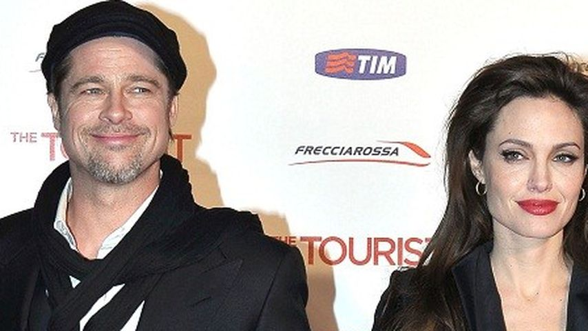 Angelina Jolie verschanzt sich Zuhause