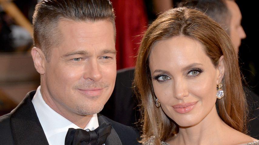 Brad Pitt und Angeline Jolie bei der Oscar-Verleihung 2014