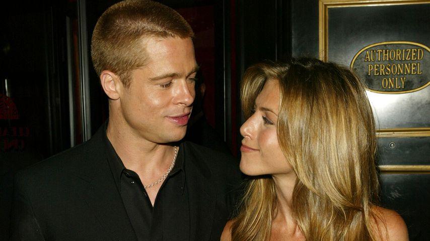 Brad Pitt und Jennifer Aniston im Mai 2004 in New York