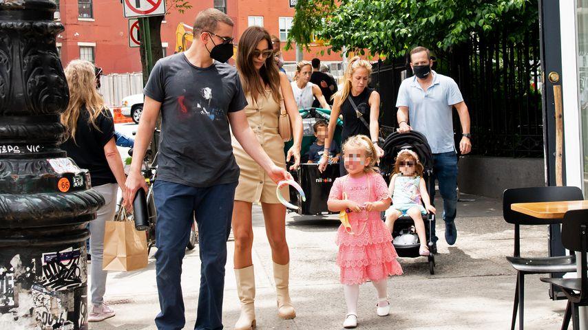 Bradley Cooper und Irina Shayk mit ihrer Tochter Lea
