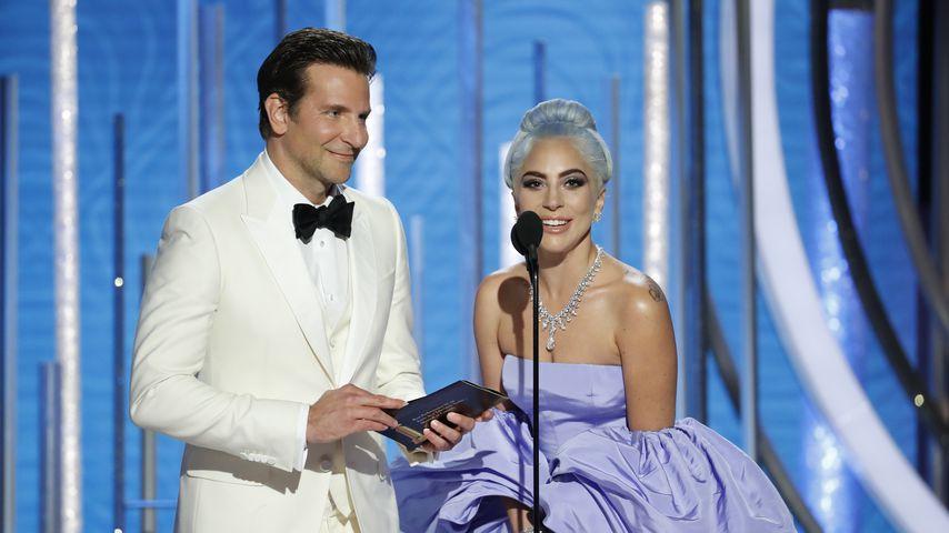 Bradley Cooper und Lady Gaga bei den Golden Globes 2019