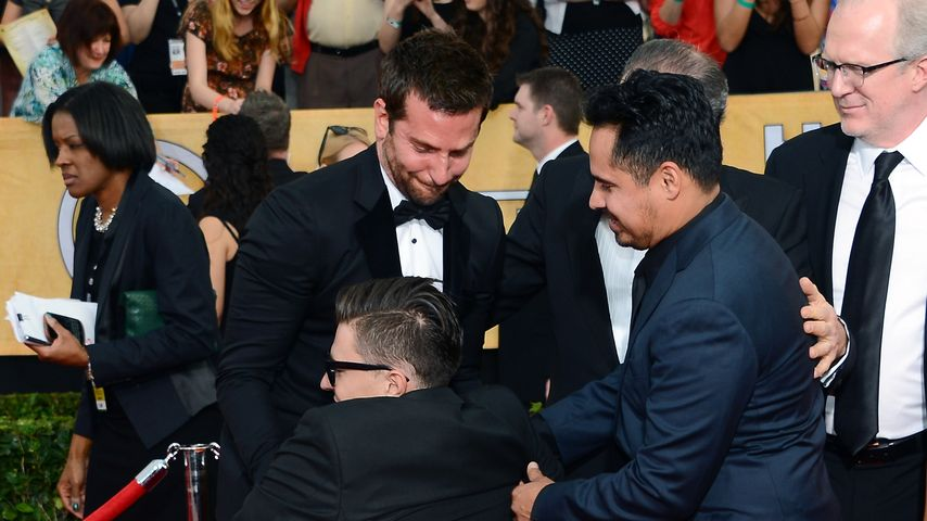 Bradley Cooper und Vitali Sediuk bei den Screen Actors Guild Awards 2014