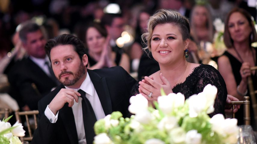 Brandon Blackstock und Kelly Clarkson, 2015