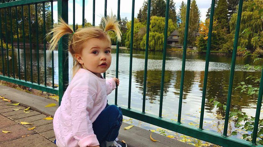 Süßer Racker: Brandon Jenners Töchterchen wächst und wächst
