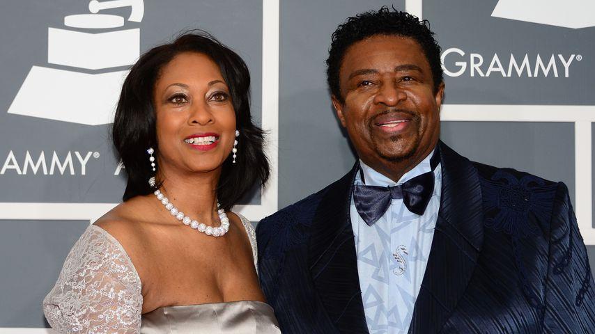 Brenda und Dennis Edwards bei den US-Music-Grammy Awards