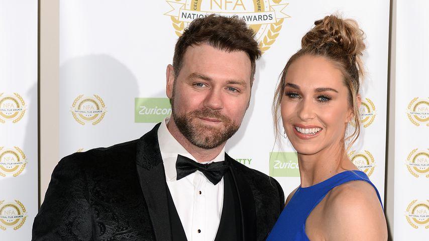 Brian McFadden und seine Verlobte Danielle bei den National Film Awards 2019