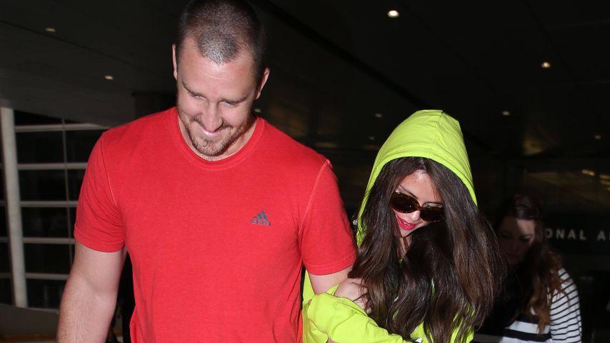 Musikmanager Brian Teefey und Selena Gomez