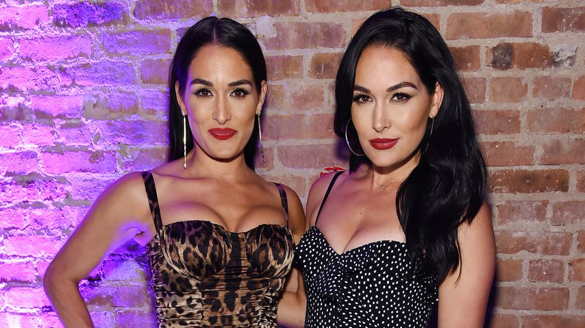 Brie und Nikki Bella im Mai 2019 in New York
