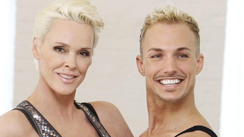 Brigitte Nielsen (54) wieder Mama: Tanzpartner kontert Kritk