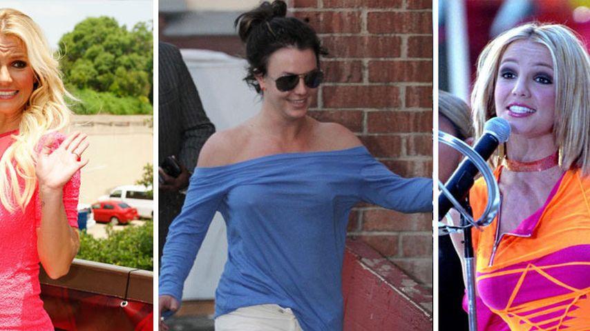 Wow-Effekt! Britney Spears im Wandel