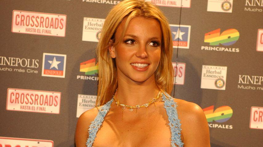 Britney Spears 2002 in Madrid