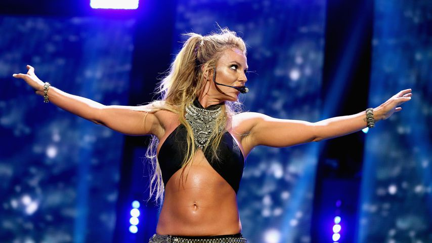 Britney Spears beim iHeartRadio Music Festival
