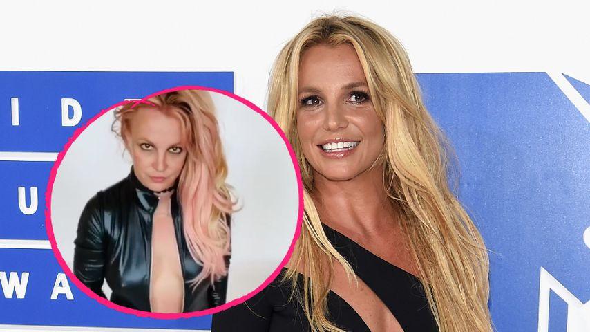 Im Latex-Anzug: Britney Spears teilt verstörendes Video!