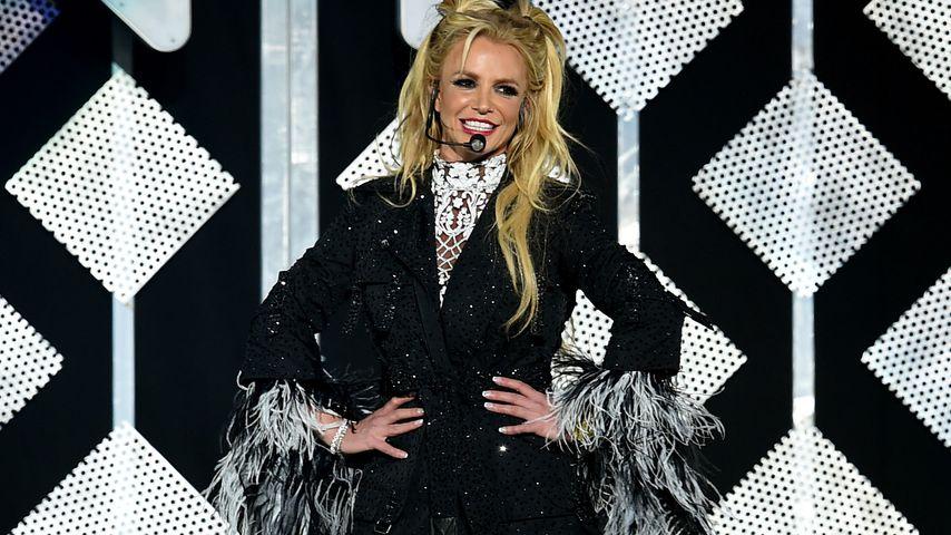 Britney Spears bei Kiss FM's Jingle Ball in L.A. im Dezember 2016