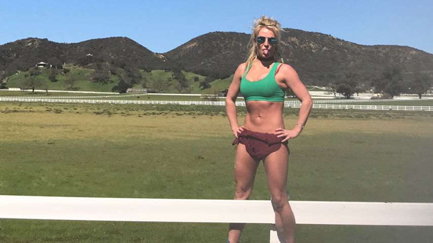 Dank Yoga & Hantel-Sessions: Britney Spears ist fit wie nie!