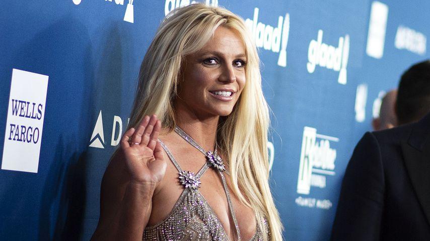 Britney Spears im April 2018 in Kalifornien
