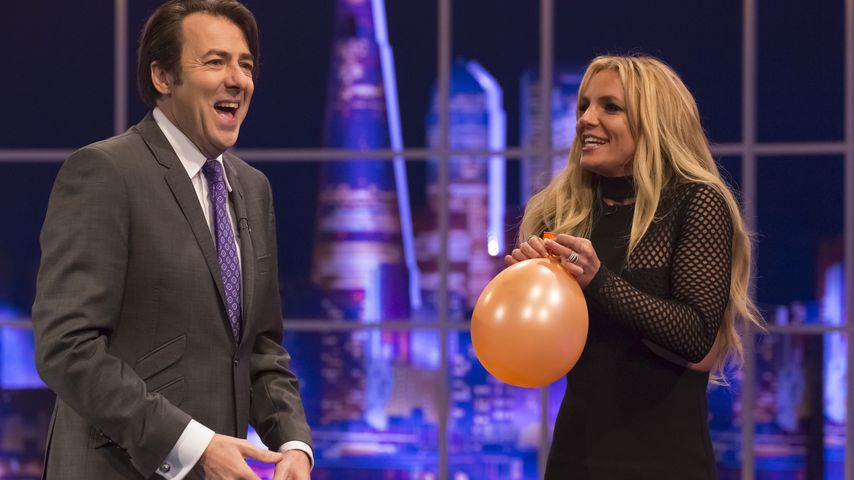 Britney Spears und Talkmaster Jonathan Ross