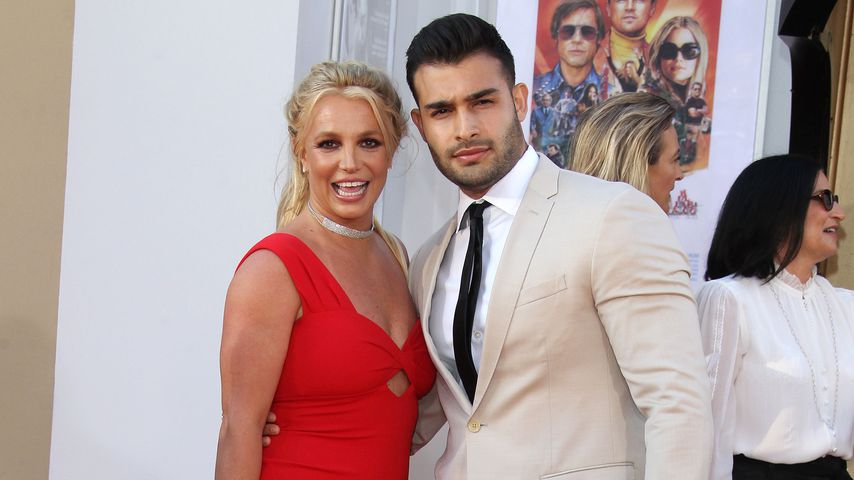 So feierte Britney Spears mit Freund Sam den 38. Geburtstag