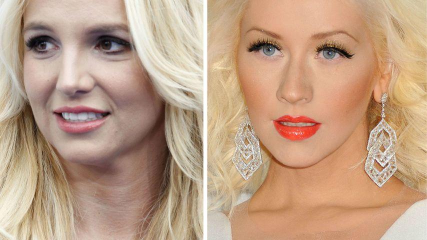 Christina Aguilera und Britney Spears