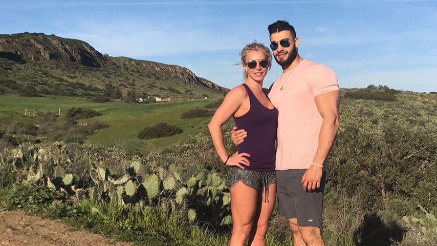 Liebes-Outing: Britney Spears schickt Sam süße B-Day-Grüße!