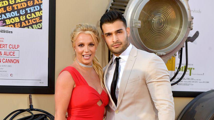 Britney Spears und Sam Asghari, Juli 2019 in Hollywood