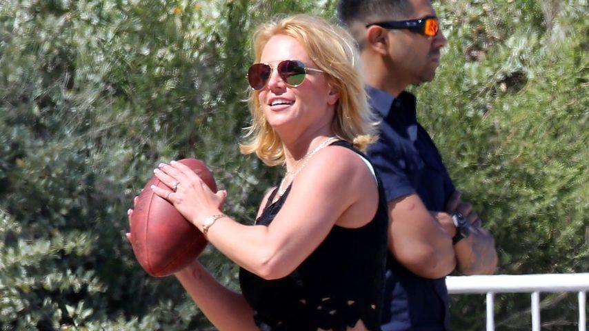 Sport trotz Verletzung: Veräppelt Britney Spears ihre Fans?