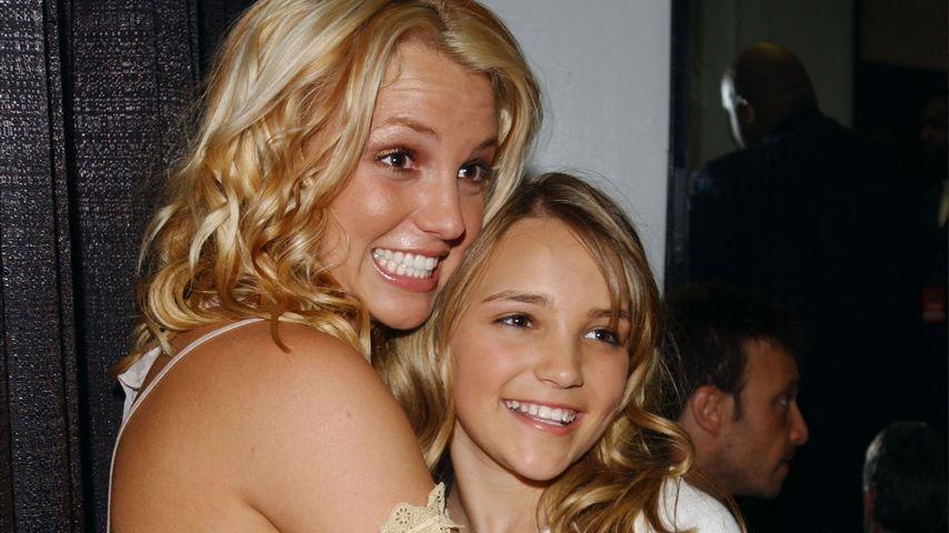 Britney und Jamie Lynn Spears im Jahr 2003