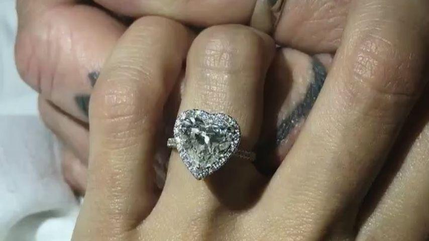 Brittany Furlans Verlobungsring