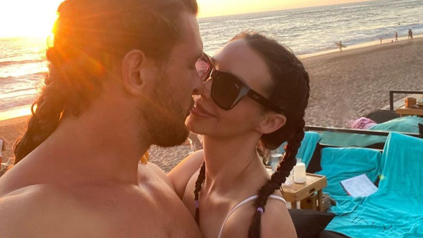 Brock Davis und Scheana Shay im Februar 2021