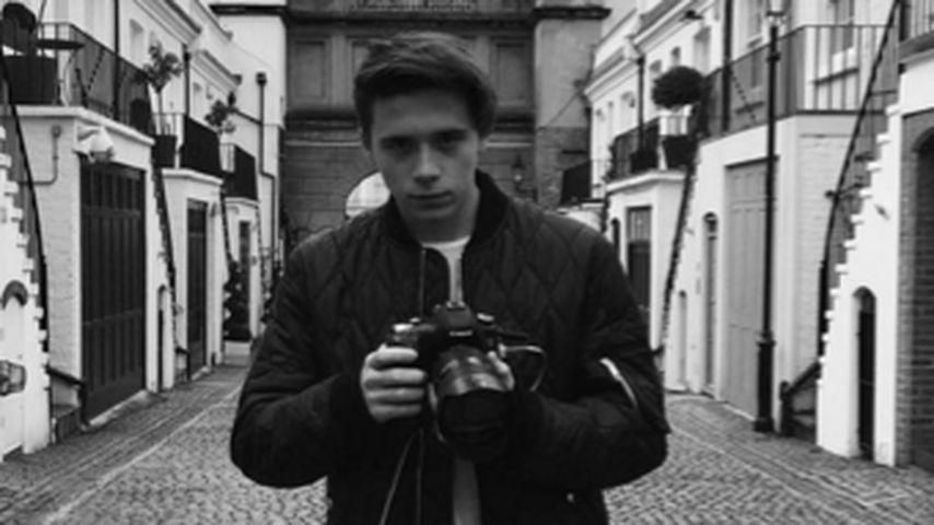 Jetzt hinter der Kamera: Beckham-Sohn knipst für Burberry