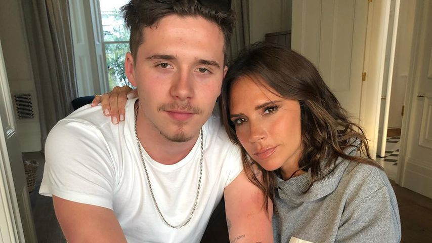Brooklyn Beckham und seine Mutter Victoria Beckham