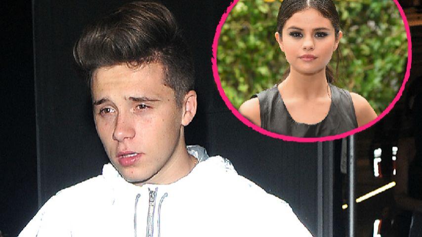 Brooklyn betrübt: Selena Gomez hat ihm das Herz gebrochen