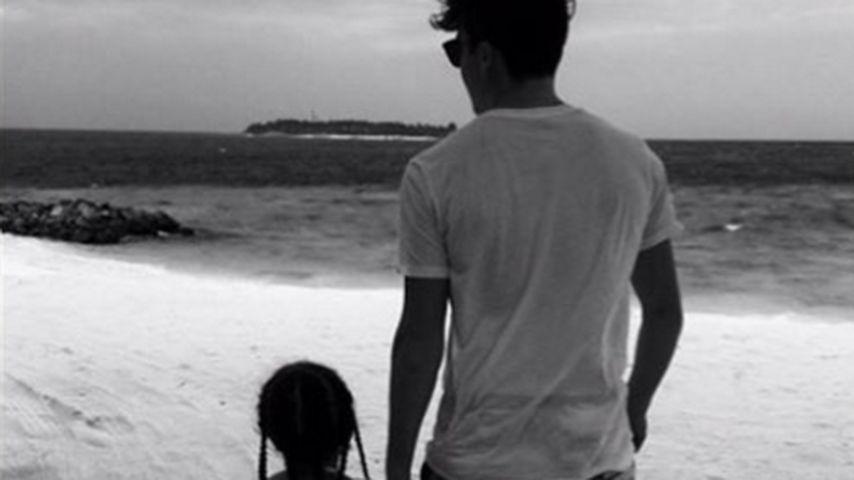 Liebevoller Bruder: Brooklyn Beckham kümmert sich um Harper