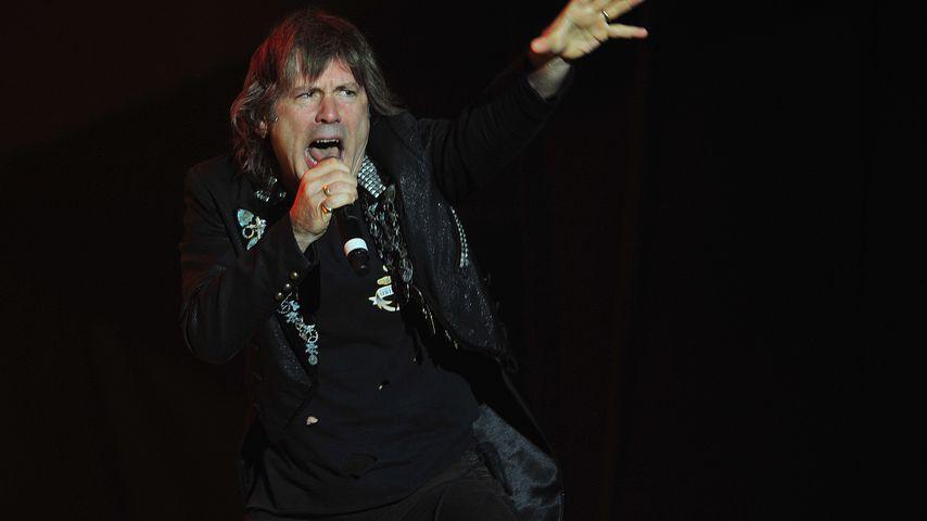 Bruce Dickinson, Frontmann von Iron Maiden