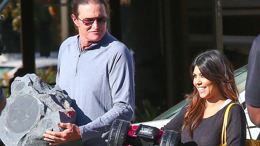 Kourtney Kardashian schämt sich für Bruce Jenner
