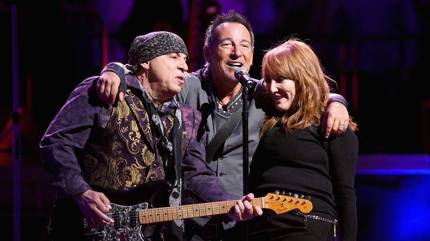 """Little Steven"", Bruce Springsteen und Patti Scialfa"