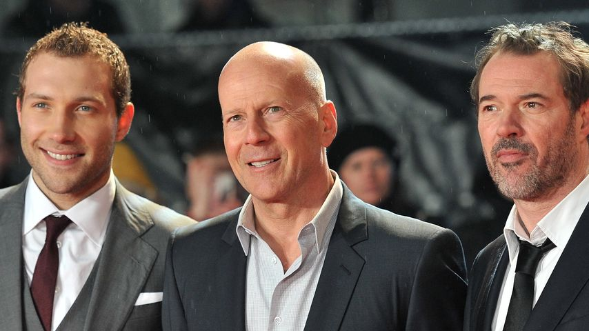 Sebastian Koch: So spontan war Bruce Willis am Set