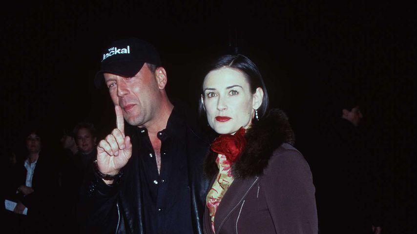 Bruce Willis und Demi Moore im November 1997