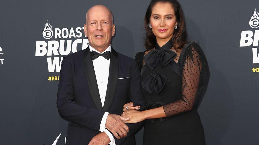 Bruce Willis und Emma Heming Willis bei einem Event in L.A. im Juli 2018