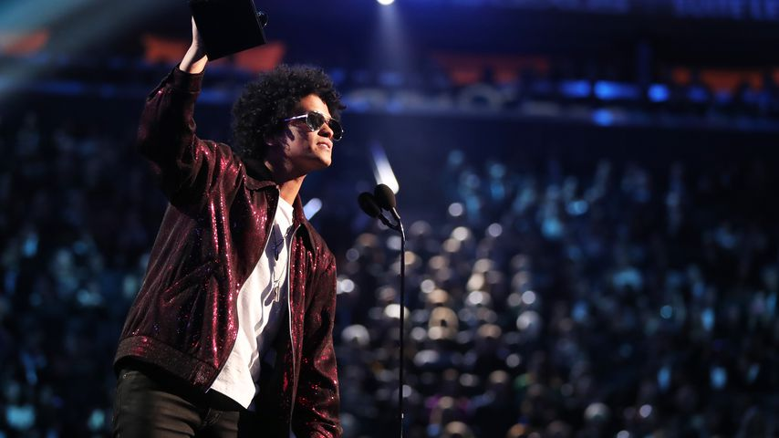 Bruno Mars bei den Grammy Awards 2018
