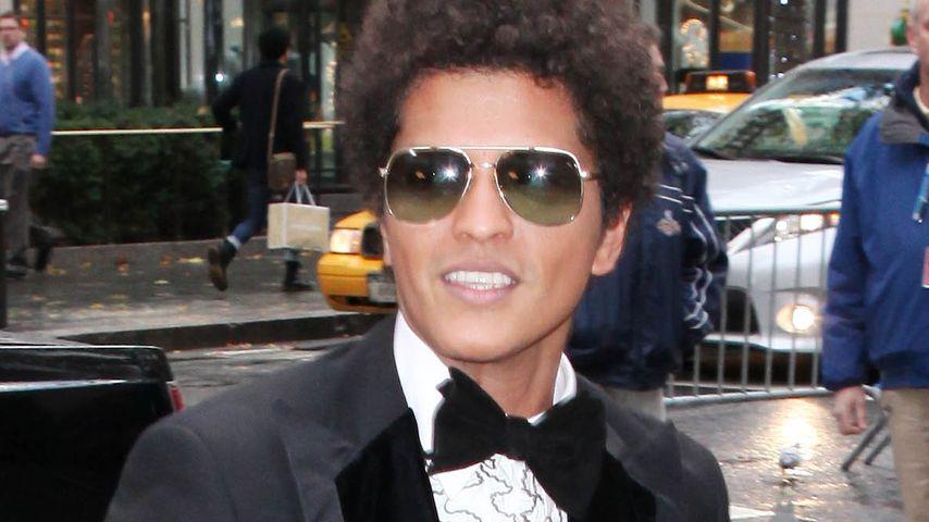 Bruno Mars plant eine verrückte Zirkushochzeit