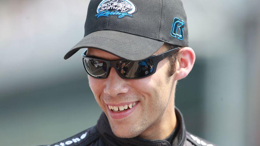 Bryan Clauson beim Indianapolis Motor Speedway im Mai 2012