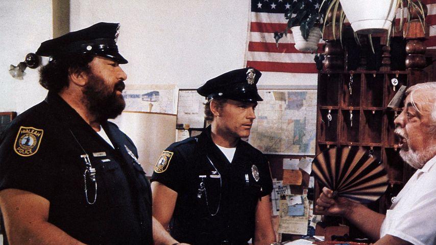 Bud Spencer und Terence Hill in einer Filmszene