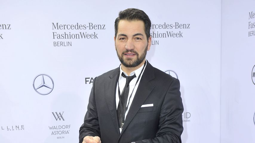 Bülent Sharif bei der Berliner Fashion Week