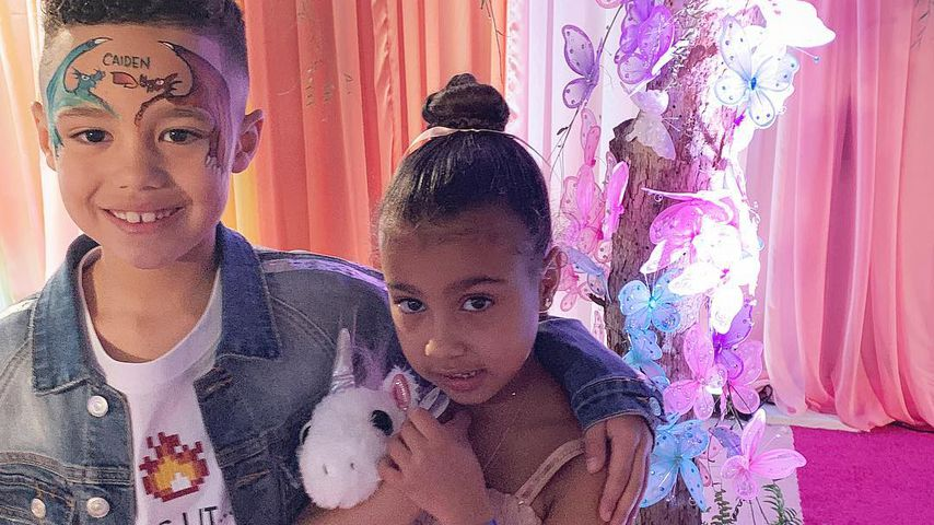 Hat Kim & Kanyes Tochter North (5) schon einen Boyfriend?